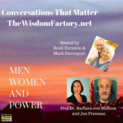 Men Women and Power Podcast Cover