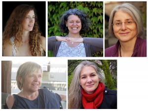 Luna Ceovelli, Bettina Hartman, Gertraud Wegst, Heidi Hornlein Tammy Lea Meyer