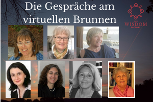Frauen am virtuellen Brunnen
