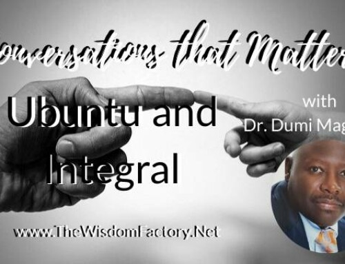 Ubuntu and Integral with Dr. Dumi Magadlela