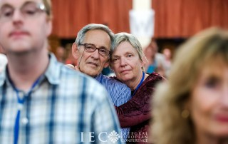 Heidi and Mark in the audience of the 2nd European Integral Conference in Hungary 2016