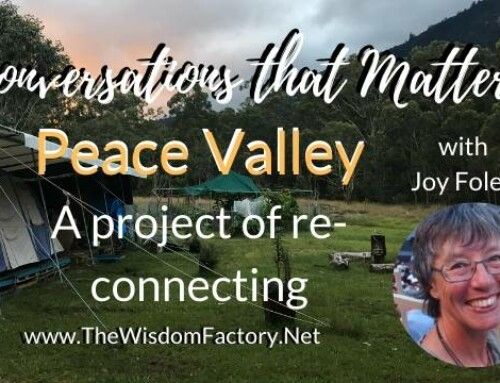 Peace Valley with Joy Foley