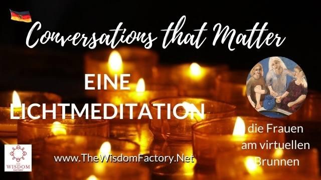 Eine Lichtmeditation