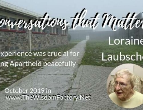 Loraine Laubscher: her role in ending Apartheid in South Africa