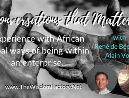 Experience with African tribal ways of being within an enterprise
