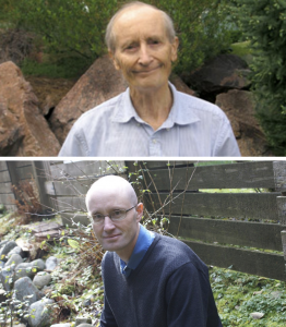 portraits of Christopher and Durwin Foster