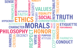 Wordcloud around truth