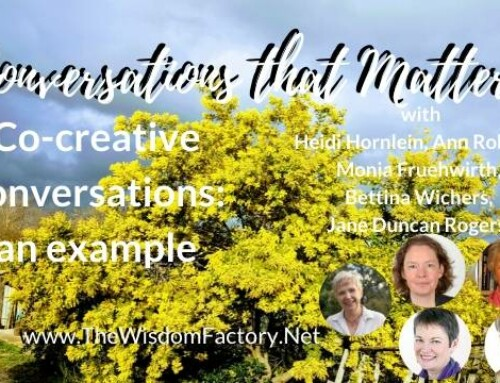 Co-creative conversations: an example